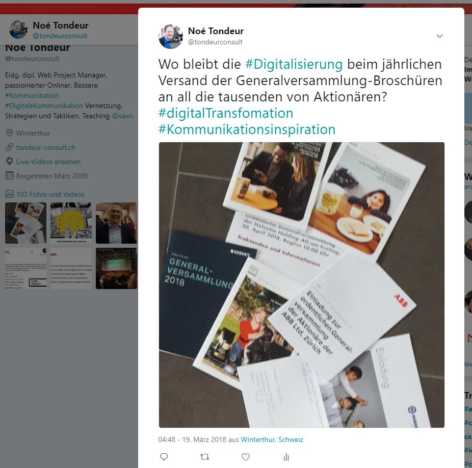 Print und digital